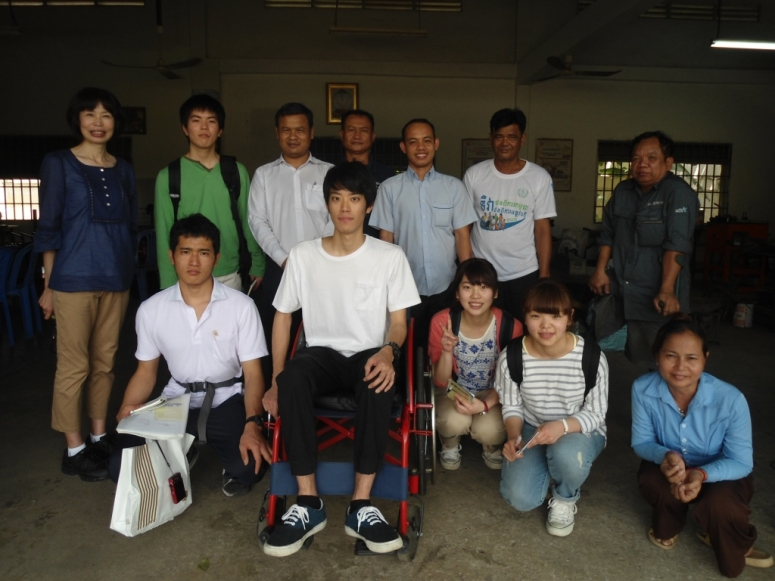 Group Japanese students visited  AAR, WCD.